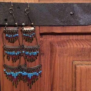Jewelry - Boholicious Beaded Drop Earrings